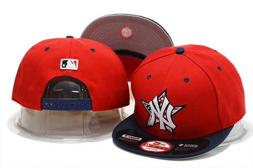 New York Yankees Red Snapback Hat YS 0721