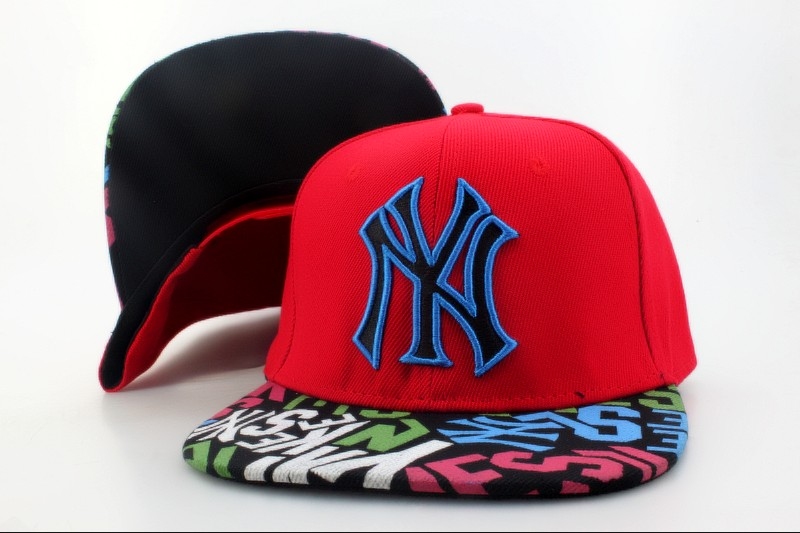 New York Yankees Snapback Hat QH 115
