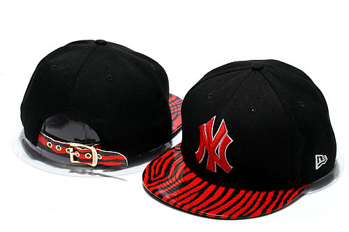 New York Yankees Black Snapback Hat YS 0512