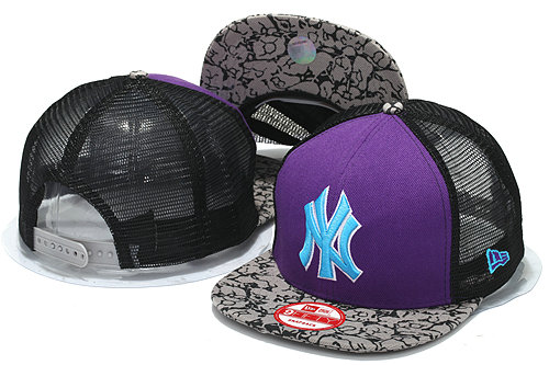 New York Yankees Mesh Snapback Hat YS 0512
