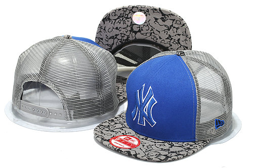 New York Yankees Mesh Snapback Hat YS3 0512