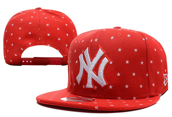 New York Yankees Red Snapback Hat XDF1 0512