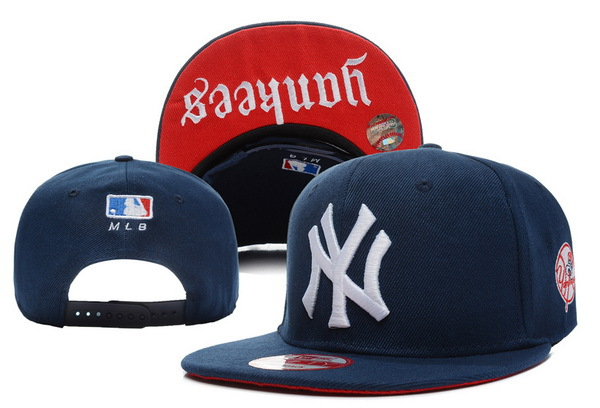 New York Yankees Blue Snapback Hat XDF