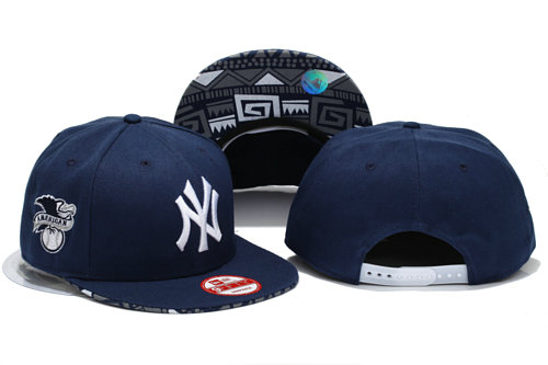New York Yankees D.Blue Snapback Hat YS