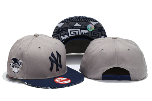 New York Yankees Grey Snapback Hat YS
