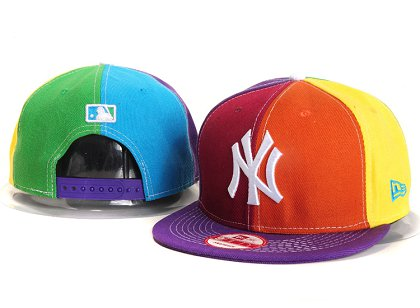 New York Yankees New Type Snapback Hat YS 87J01