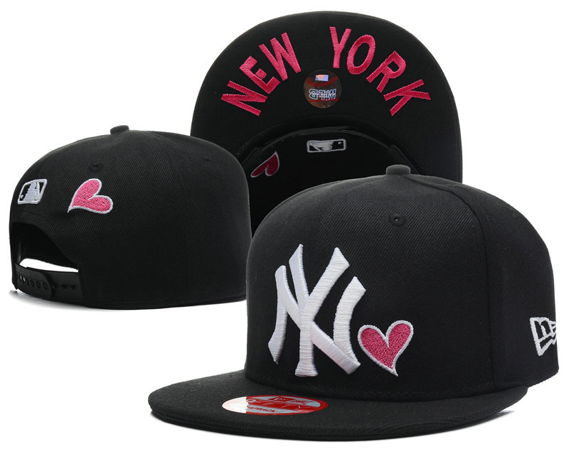 New York Yankees Black Snapback Hat SD 1 0613
