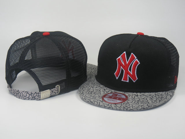 New York Yankees Mesh Snapback Hat LS 0613
