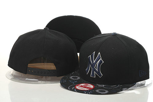 New York Yankees Snapback Black Hat 1 GS 0620