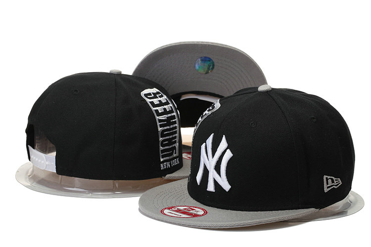 New York Yankees Snapback Black Hat 3 GS 0620