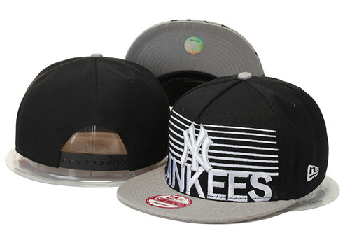 New York Yankees Snapback Black Hat 4 GS 0620