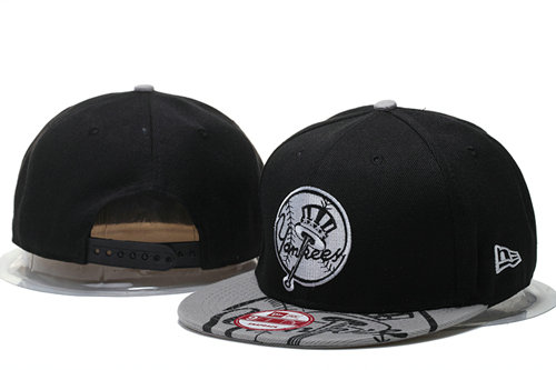 New York Yankees Snapback Black Hat 5 GS 0620