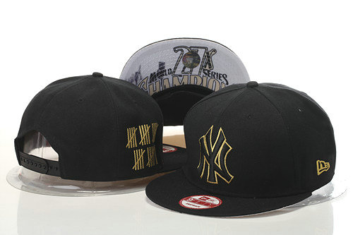 New York Yankees Snapback Black Hat GS 0620