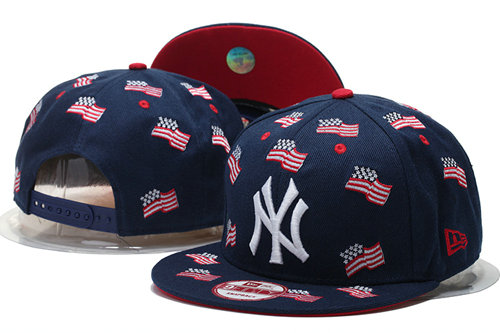 New York Yankees Snapback Navy Hat 1 GS 0620