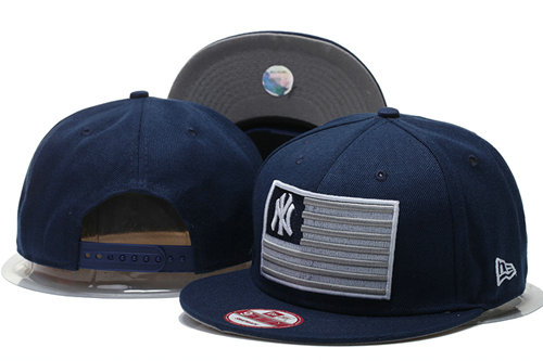 New York Yankees Snapback Navy Hat GS 0620