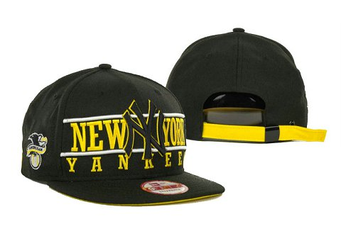 New York Yankees MLB Snapback Hat SD1