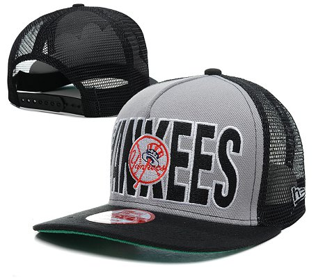 New York Yankees MLB Snapback Hat SD2