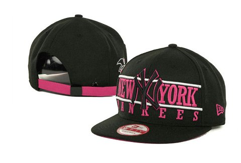 New York Yankees MLB Snapback Hat SD4