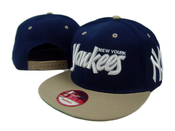 New York Yankees MLB Snapback Hat SD05