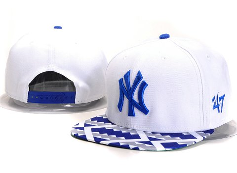 New York Yankees MLB Snapback Hat YX116
