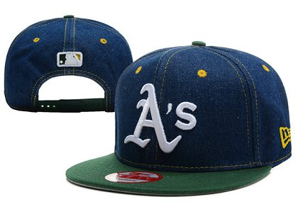 Oakland Athletics Snapback Hat XDF 140802-07