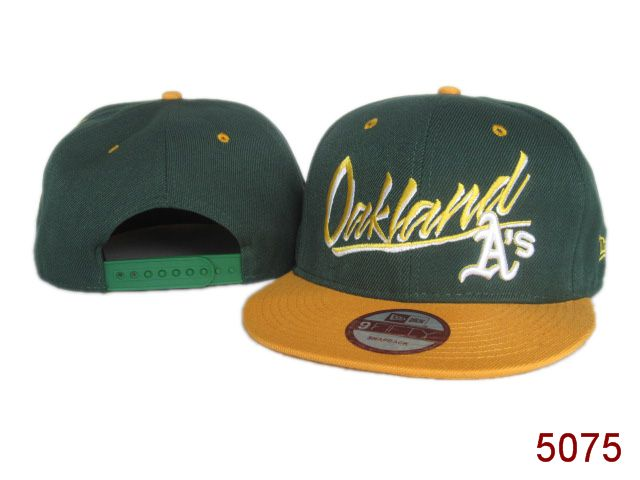 Oakland Athletics Snapback Hat SG 3836