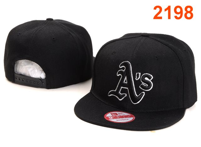 Oakland Athletics MLB Snapback Hat PT042