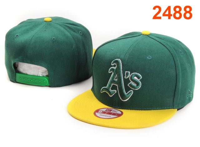 Oakland Athletics MLB Snapback Hat PT101