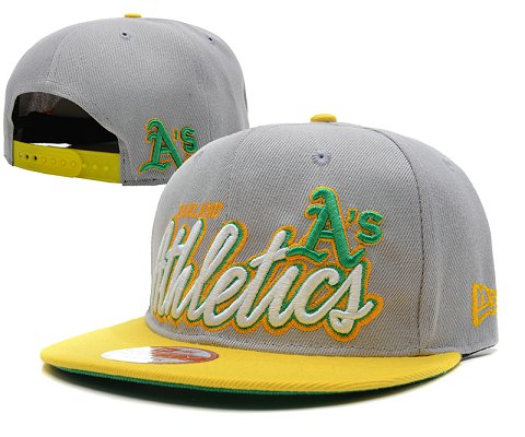 Oakland Athletics MLB Snapback Hat SD2