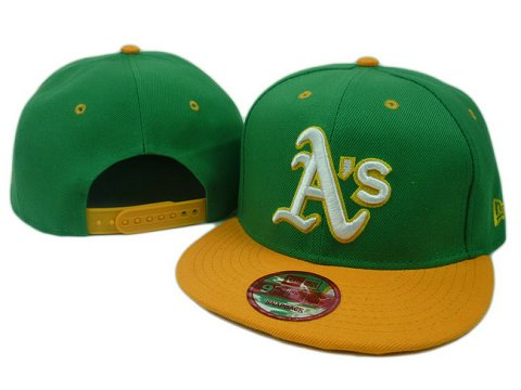 Oakland Athletics MLB Snapback Hat SD08