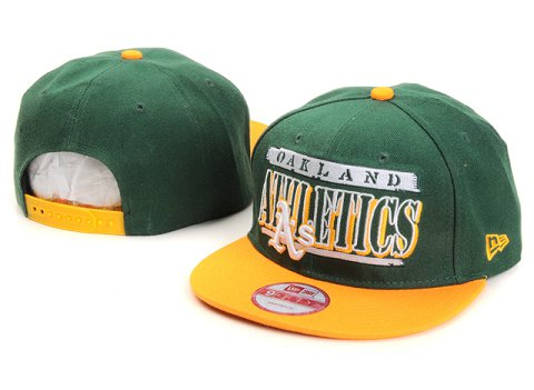 Oakland Athletics MLB Snapback Hat YX010