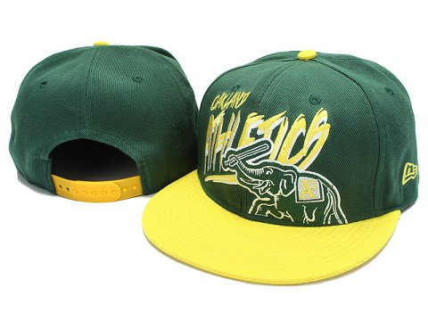 Oakland Athletics MLB Snapback Hat YX033