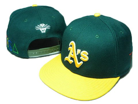 Oakland Athletics TISA Snapback Hat DD40