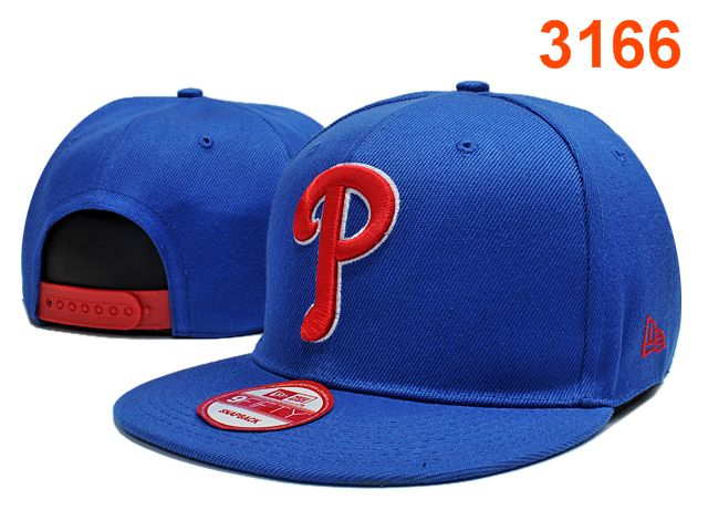 Philadelphia Phillies Blue Snapback Hat PT 1 0701