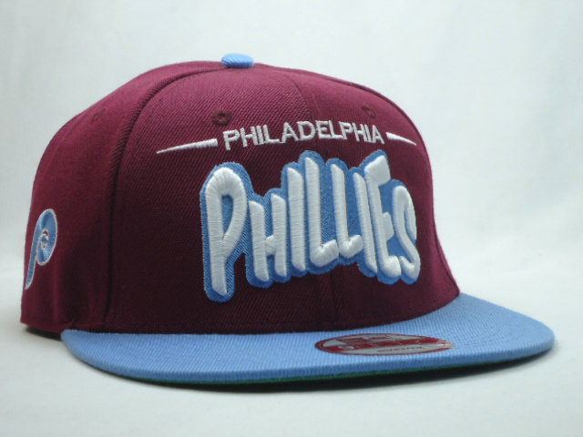 Philadelphia Phillies Red Snapback Hat SF