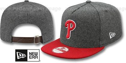 Philadelphia Phillies-Melton Snapback Hat SF 12