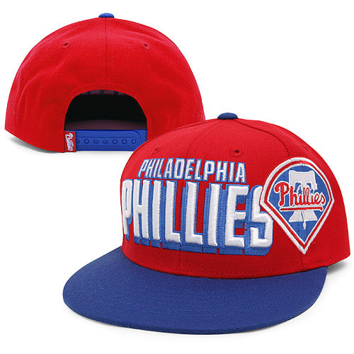 Philadelphia Phillies MLB Snapback Hat Sf4