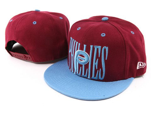 Philadelphia Phillies MLB Snapback Hat YX018