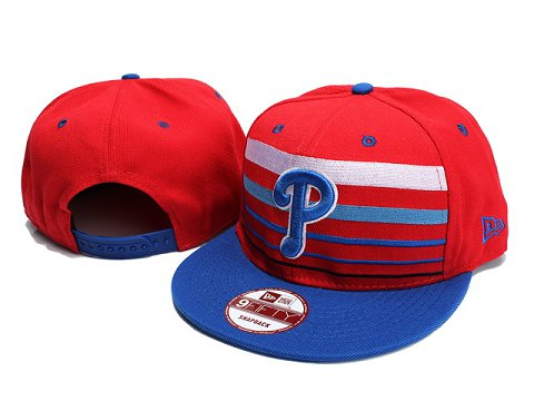 Philadelphia Phillies MLB Snapback Hat YX032