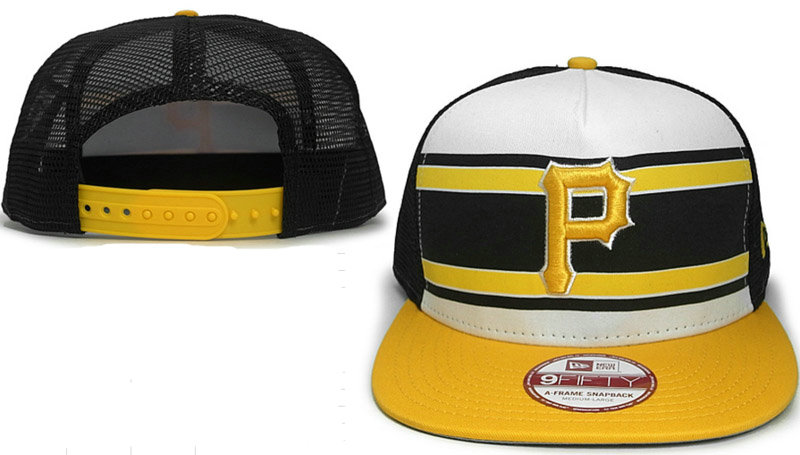Pittsburgh Pirates Mesh Snapback Hat GF 0721