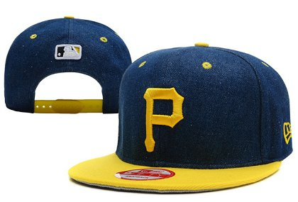 Pittsburgh Pirates Snapback Hat XDF 140802-04