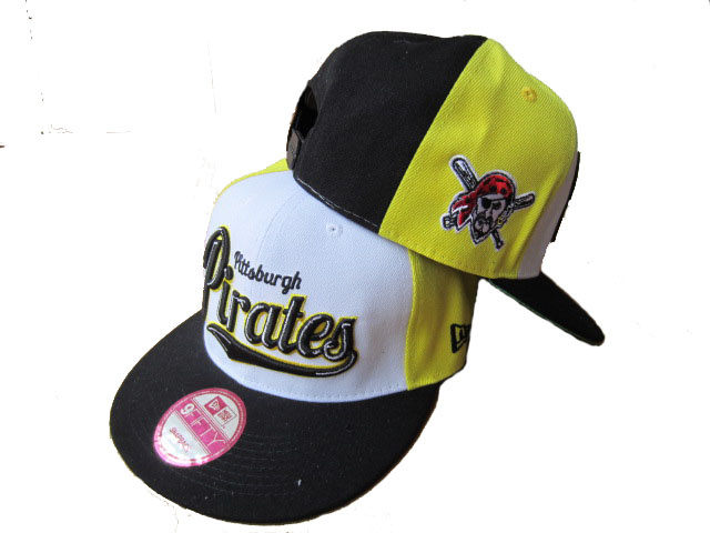 Pittsburgh Pirates Snapback Hat LX03