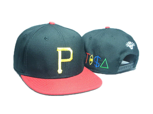 Pittsburgh Pirates TISA Snapback Hat DD05