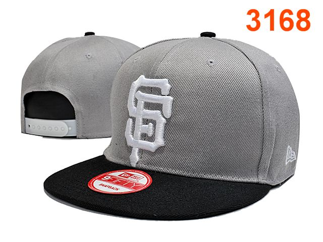 San Francisco Giants Grey Snapback Hat PT 0701