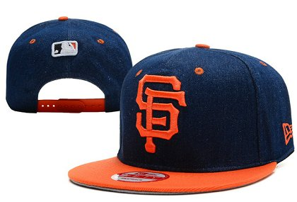 San Francisco Giants Snapback Hat XDF 140802-10