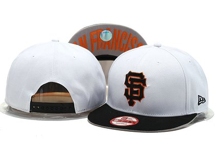 San Francisco Giants Snapback Hat YS M 140802 05