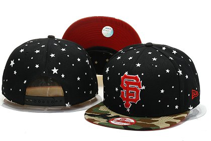 San Francisco Giants Snapback Hat YS M 140802 07