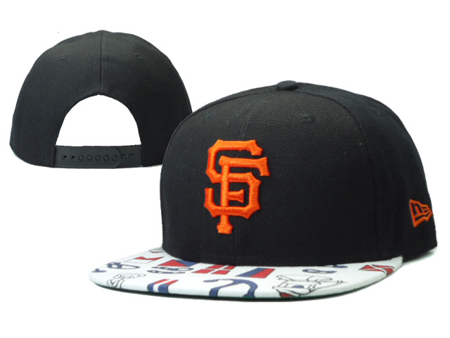 San Francisco Giants Snapback Hat SF 35