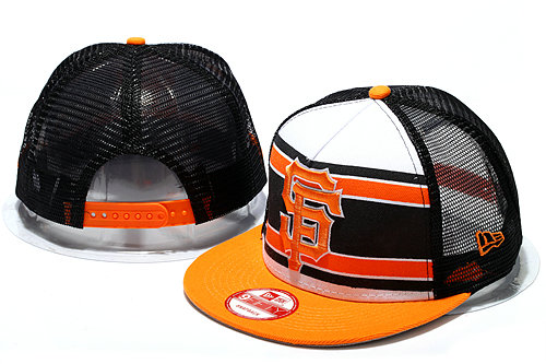 San Francisco Giants Mesh Snapback Hat YS 0512