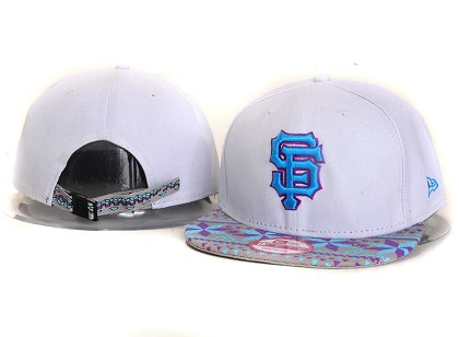 San Francisco Giants New Type Snapback Hat YS9T05